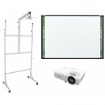 Pachet interactiv - Tabla StarBoard Premium ST 79 88inch + Videoproiector Vivitek DX281-ST + Suport AVTEK 1MV032