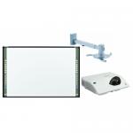 Pachet interactiv - Tabla StarBoard Premium ST 89 97inch + Videoproiector Maxell MC-CW301WN + Suport Reflecta 23171