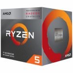 Procesor AMD Ryzen 5 3400G 3.7GHz, Socket AM4, Box