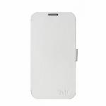 Protectie tip Book TnB Ring pentru  Samsung Galaxy S4, White