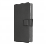 Protectie tip Book Trust Verso Universal pentru telefon de 4.7inch, Black