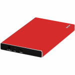Rack HDD Spacer SPR-25611R, SATA, USB 3.0, 2.5inch, Red