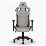 Scaun gaming Corsair T3 RUSH, Gray-Charcoal