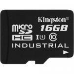 Memory Card microSDHC Kingston Industrial 16GB, Class 10, UHS-I U3, V30, A1