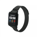 SmartWatch Canyon CNS-SW73BB, 1.22inch, Curea Metal, Black