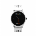 SmartWatch Canyon Oregano, 1.3inch, Curea Silicon, White-Black