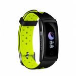 SmartWatch Canyon SB41BG, 0.9inch, Curea Silicon, Black-Green