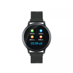 SmartWatch Canyon SW71BB, 1.22inch, Curea Metal/TPU, Black