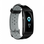 SmartWatch Fitness Canyon SB41BR, 0.9inch, curea Silicon, Black-Grey