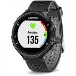 Smartwatch Garmin Forerunner 235, 1.23 inch, curea silicon, Black-Grey