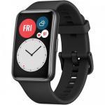 SmartWatch Huawei Watch Fit B09, 1.64inch, curea silicon, Graphite Black
