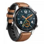 SmartWatch Huawei WATCH GT B19V, 1.39 inch, curea silicon, Brown