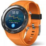 Smartwatch Huawei Watch W2 4G Sport Orange Strap, Black-Orange
