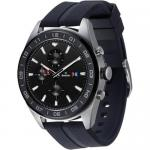 Smartwatch LG W7, 1.2 inch, Curea Silicon, Silver-Black
