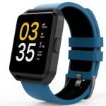 Smartwatch Maxcom FitGo FW15 Square, 1.54inch, curea silicon, Blue