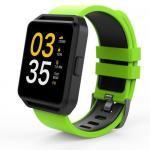 Smartwatch Maxcom FitGo FW15 Square, 1.54inch, curea silicon, Green