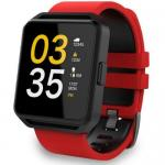 Smartwatch Maxcom FitGo FW15 Square, 1.54inch, curea silicon, Red