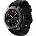 SmartWatch Samsung Gear S3 Frontier, 1.3 inch, curea silicon, Black