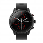Smartwatch Xiaomi Amazfit Stratos, 1.34 inch, curea silicon, Black