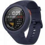 Smartwatch Xiaomi Amazfit Verge, 1.3 inch, curea silicon si policarbonat, Blue