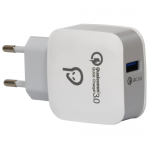 Alimentator retea Spacer SPAR-USBQ-01, 1x USB, 18W, White