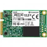 SSD Transcend 370S, 64GB, SATA3, mSATA
