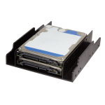 Suport montare HDD LogiLink AD0010, 2x HDD, 2.5inch in bay de 3.5inch