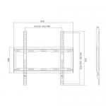 Suport perete LogiLink BP0011, 32-55inch, Black
