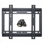 Suport TV Omega, 14-42inch, Black + Cablu HDMI