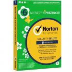 Symantec NORTON SECURITY DELUXE 1user/5device, 18luni, Poloneza, Box