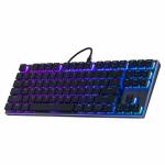 Tastatura Cooler Master SK630 Cherry MX Low Profile Mecanica, RGB LED, USB, Black