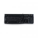 Tastatura Logitech K120, USB, Layout Italia, Black