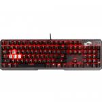 Tastatura MSI Vigor GK60, Red LED, USB, Black