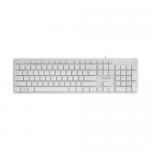 Tastatura Natec Discus Slim, USB, White