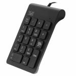 Tastatura numerica TnB MPV1, USB, Black