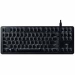 Tastatura Razer BlackWidow Lite Orange Switch Mecanica, White LED, USB, Black