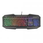 Tastatura Trust GXT 830 RW-C Avonn Camo, RGB LED, USB, Black