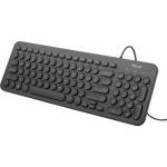 Tastatura Trust Muto Silent, USB, Black