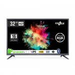 Televizor LED Gazer Smart Android TV32-HS2G Seria HS2G, 32inch, HD Ready, Black-Grey