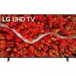 Televizor LED LG Smart 55UP80003LR, Seria UP80003LR, 55inch, Ultra HD 4K, Black