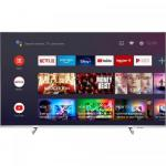 Televizor LED Philips Smart Android 55PUS7956/12 Seria PUS7956/12, 55inch, UHD, Silver