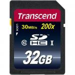 Memory Card SDHC Transcend Ultimate 200x 32GB, Class 10