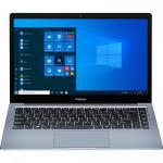 Ultrabook Prestigio SmartBook 141 C4, AMD A4-9120e, 14.1inch, RAM 4GB, eMMC 64GB, AMD Radeon R3, Windows 10 Pro, Dark Grey