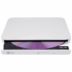 Unitate optica externa LG GP95EW70 DVD-RW, USB 2.0, White