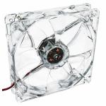 Ventilator AKYGA AW-12A-BR Red LED, 120mm
