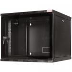 Rack Logilink W09A54B, 19inch, 9U, 550x540mm, Black