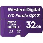 Memory Card microSDHC Western Digital Purple SC QD101 32GB, Class 10, UHS-I U