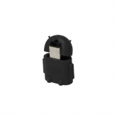 Adaptor LogiLink Micro USB B/Male - USB A/Female OTG, Black