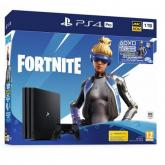 Consola Sony PlayStation 4 Pro, 1TB, Black + Joc Fortnite