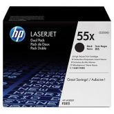 Kit Cartus Toner HP CE255XD Dual Pack Black